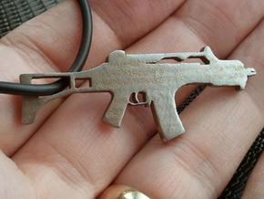 HK G36 Assault Rifle Pendant in White Strong & Flexible