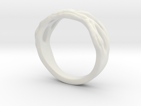 Organic Ring in White Strong & Flexible: 8.5 / 58