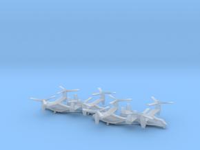 Bell Boeing V-22 Osprey in Smooth Fine Detail Plastic: 1:700