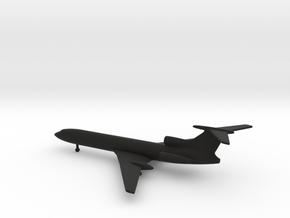 Tupolev Tu-154 Careless in Black Natural Versatile Plastic: 1:500