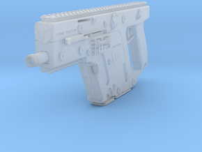 RESIDENT EVlL: RETRIBUTION - Kriss Vector .45ACP ( in Smoothest Fine Detail Plastic