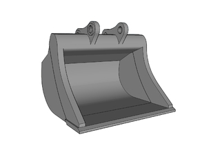 HO - Bucket XL for 20-25t excavators in Frosted Ultra Detail