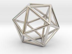 Icosahedron in Platinum