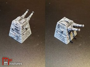 Turbolaser Turret in White Strong & Flexible