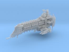 Dark Ship in Smooth Fine Detail Plastic