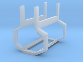 Swiss Railway Signal Cage V3 in Smooth Fine Detail Plastic