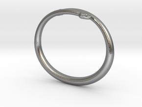 "Bracelet ""Snake"" in Natural Silver: Small"