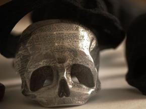 Skull Ring US 9 in Stainless Steel