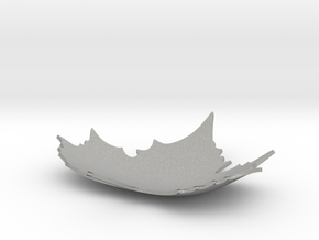 Defoliation ornament plate in Aluminum: Small