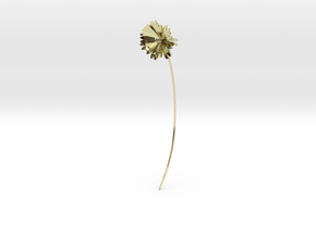 Daisy earring in 18k Gold Plated Brass