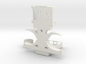 RPI3 mount in White Natural Versatile Plastic