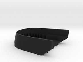 BoostedBoardV2_skid_plate in Black Premium Versatile Plastic