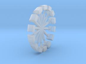 N Scale PRR Messenger Vent 14PK in Smoothest Fine Detail Plastic