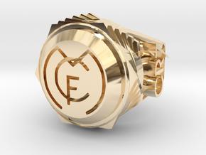 Cristiano Ronaldo Ring  in 14K Yellow Gold