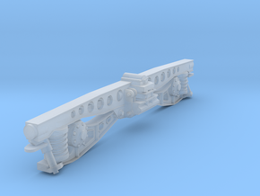 NS DE 1 DE 2 draaistel side. scale 0 (1:45) in Smooth Fine Detail Plastic