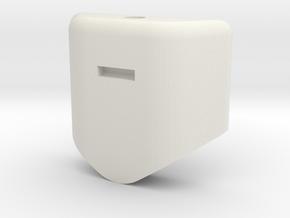 Glider_body - glider_1-1 in White Natural Versatile Plastic
