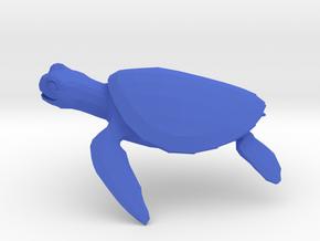 Turtle in Blue Processed Versatile Plastic