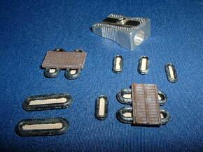 German Floßsäcke 1/285 6mm in Smooth Fine Detail Plastic