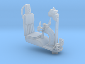 YT1300 FM 1/72 TURRET WELL SEAT  in Smooth Fine Detail Plastic