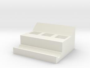 Cutlery box in White Natural Versatile Plastic