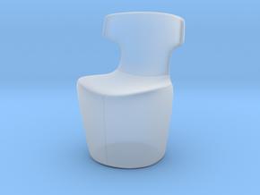 Miniature Mini Papilio Chair - B&B Italia in Smooth Fine Detail Plastic: 1:12