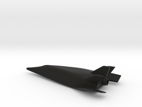 X-24C Hypersonic Research Craft (1977) 1:144 in Black Natural Versatile Plastic