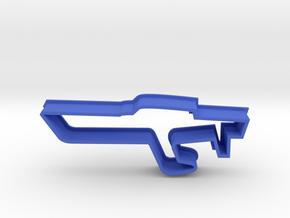 Boat Cookie Cutter in Blue Processed Versatile Plastic