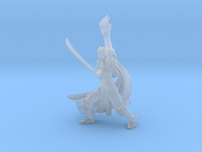 Elf Eldritch Knight in Smooth Fine Detail Plastic