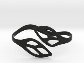FLOS Bracelet in Black Premium Versatile Plastic: Extra Small
