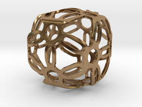 Symmetric Cuboid Structure 1 in Natural Brass