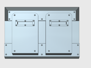 Blank : Deimos APC Frontplate in Smooth Fine Detail Plastic