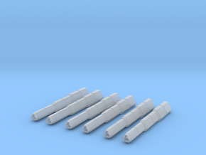 Light Railguns set in Smooth Fine Detail Plastic