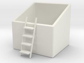 Multi-function box in White Natural Versatile Plastic