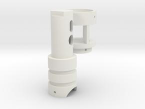 Luke´s crystal pendant (beta) in White Premium Versatile Plastic
