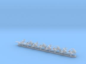 SB2C w/Gear x8 (FUD) in Smooth Fine Detail Plastic: 1:700