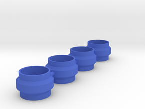 King Shocks Separator 3mm in Blue Processed Versatile Plastic