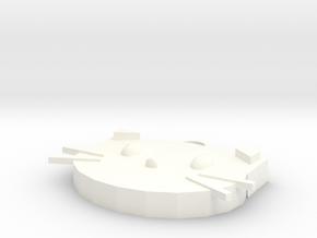Cat strap in White Processed Versatile Plastic
