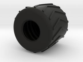 """Rolligon Tire 54"""" x 68"""" in Black Natural Versatile Plastic"""