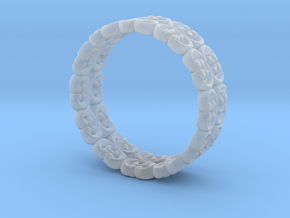 """Bracelet """"Bloom"""" in Smooth Fine Detail Plastic: Small"""