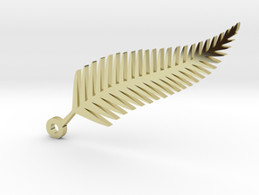Fern Leaf  in 18k Gold Plated Brass