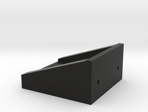 dual servo mount for ar60 axles in Black Natural Versatile Plastic
