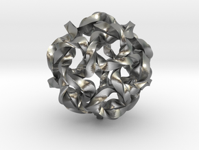 Knot Berry in Natural Silver (Interlocking Parts)
