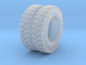 1-24_tire_for Charlie_4 in Smooth Fine Detail Plastic