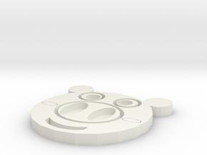 豬杯墊 in White Natural Versatile Plastic