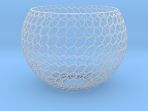 Lamp Shade-6h in Smooth Fine Detail Plastic