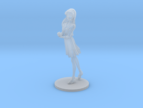 1/20 High School Girl in Winter Uniform 01 in Smooth Fine Detail Plastic