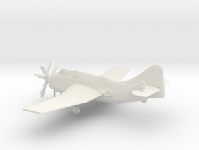 Fairey Gannet AS.I in White Natural Versatile Plastic: 1:64 - S