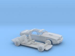 1/160 1977 Pontiac Firebird Trans Am T-Top Kit in Smooth Fine Detail Plastic