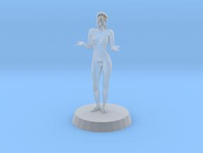 Sexy Girl in Bikini in Smoothest Fine Detail Plastic