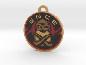 ENCE Charm (Rainbow 6 Siege) in Full Color Sandstone